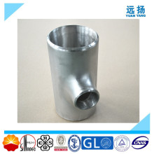 High Quality 304 316L Stainless Steel Reducing Tee