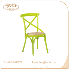 X Back Chair, Bistro-Lederstühle, Crossback Chair