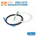 Cable de parche SCTT FTTH de fibra simple G657 monomodo 3Meter