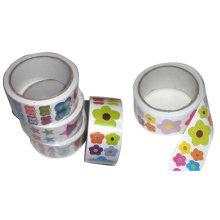 Custom Star paper sticker,self adhesive paper sticker