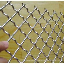 Todos os Tipos de Material Fence Mesh / Crimped Wire Mesh