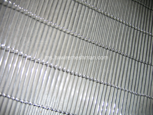 Stainless Steel Mata Bersama Link Conveyor Belt