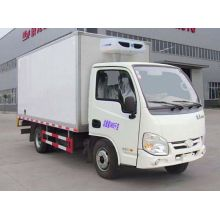 Yuejin used refrigerated cargo vans for sale