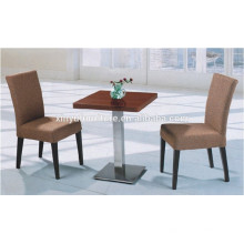 Modern restaurant chair and square table set XYN1310