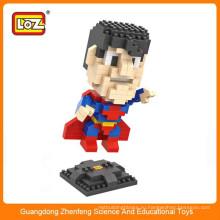 LOZ 9455 Маленький супер герой алмазный пластиковый строительный блок головоломка для рождественского подарка