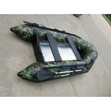 Populäres PVC-aufblasbares Boot für das Fischen oder das Arbeiten
