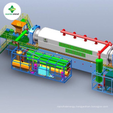 Processing oily sludge pyrolysis plant with Maximum with big capacity and high quality