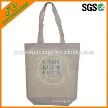 100% natürliche Baumwolle Einkaufstasche Tasche