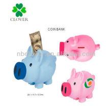 piggy shape coin bank / piggy bank / money box