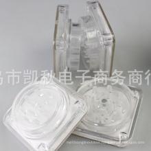 Acrylic Plastic Smoke Herb Tobacco Grinder Hand Crusher