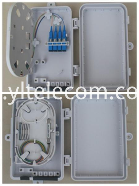 6_core_mini_ftb_outdoor_fiber_optic_terminal_box_ip65 plastic_ftth_termination_box