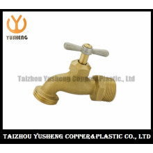 Surface Rew Brass Bibcock with Brass T-Handle (YS4001)