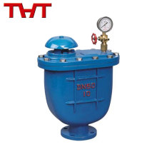Top grade cast iron/ stainless steel combination automatic air release valve
