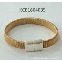 Simple Metal Gold Plated Bracelet