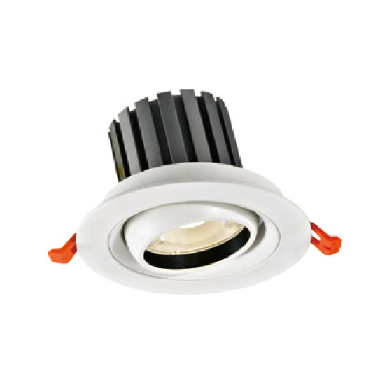 High Voltage White 20W LED Downlight