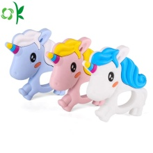 Cute Unicorn Silicone Baby Teether for Sale