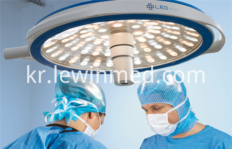 Medical instrument led operating lamp