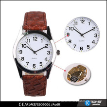 Relógio de presente com relógio de pulseira de crocodilo