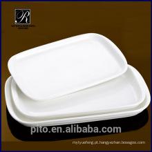 P & T porcelana fábrica forte dinnerware, pratos de cerâmica de jantar