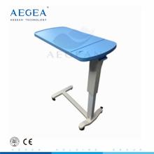 AG-OBT003B économique contrôlé par des tables d'hôpital de chevet de gaz-ressort