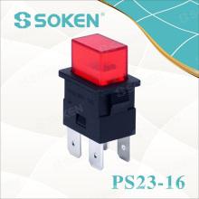 Power Switch Self-Locking/Reset Push Button Switch T125/55