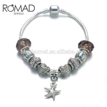 Szelam Geschenk !!! Mode DIY Kristall & Glasperlen Charme Armbänder Für Frauen Schlangenkette Armbänder & Armreifen Pulsera