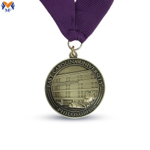 Custom round medal metal awards maker