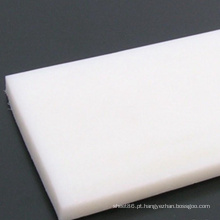Folha branca resistente ao PE do polietileno da corrosão