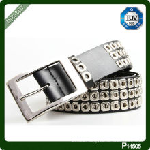 PU belt with studded 2014 new products latest design