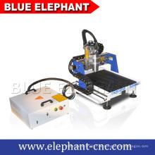 Hochwertige kleine CNC-Fräsmaschine für Metall mit Luftkühlspindel