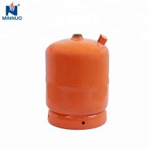 5kg leere LPG-Gasflasche, Propantank, Gasflasche