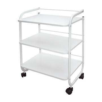 3 Regale Utility Trolley Cart mit Kunststoffhand