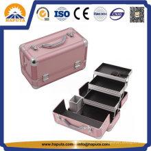 Estojo de maquiagem profissional para beleza em alumínio para viagens (HB-2031)