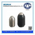 Slotted ball head ball plunger