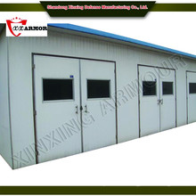 professional manufacturer supply modern house design / panelized bullet proof guard house