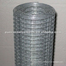 small gauge Hot dipped galvanized welded wire mesh roll