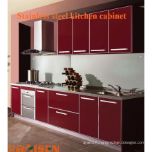 Cabinet de cuisine en acier inoxydable à haute qualité directement en usine