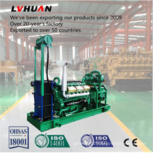 Biomass Power Generator with Wood Gasification and Syngas Genset