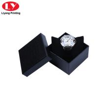 Коробка для часов черного цвета с подушкой