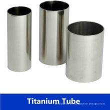 Tubo / tubo de titanio soldado ASTM B338 para el intercambiador de calor con precio de fábrica
