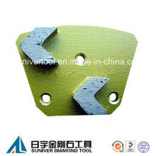 Hormigón pulido segmento segmento/flecha