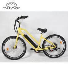 Livelytrip Nouvelle Conception 2017 Vélo Électrique 26 Pouces Beach Cruiser Vélo Électrique