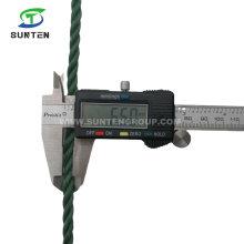 6mm Green/Black/PE/Nylon/Polyethylene/Tarpaulin/Plastic/Fishing/Marine/Mooring/Packing/Twist/Twisted/Tent Ropes