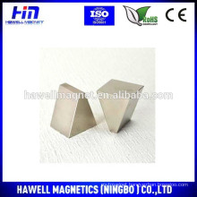 small and large triangle tpe magnet,NdFeB magnet, N35-N52 (ROHS)