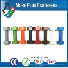Made In Taiwan Stainless Steel A2 Pressure Temperature Steel Piping Pressure Temperature Stud Bolt