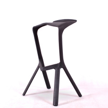 Stacking ABS plastic bar stool dining chair