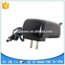 23w 9v 2.5a Lavadora de la fuente de alimentación de la CC de la CA de la fuente de alimentación UL CE FCC GS SAA ROHS