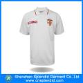 Custom Short Sleeve Embroidery White Polo Shirt for Men