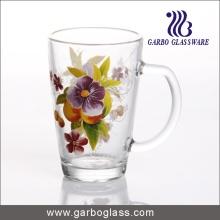 12oz Decal Glass Mug with Handle (GB094212-HCS-116)