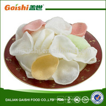 New coming high quality dried colored Prawn Crackers
